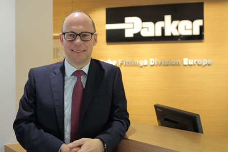 Achim Kohler, General Manager der Tube Fittings Division Europe der PARKER HANNIFIN Manufacturing Germany GmbH & Co. KG
